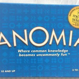 Anomia Card Game Good Used Condition
